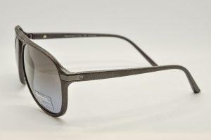Occhiali da sole Barberini Explorer br1602 - Telaio grigio lenti polarizzate grigie
