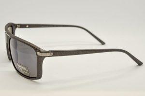 Occhiali da sole Barberini Explorer br1609 - 3 - Telaio Grigio e lenti polarizzate grigio blu