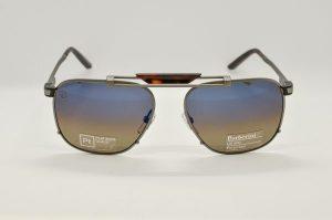 Occhiali da sole Barberini Helios br1617 - 2 - Telaio in metallo grigio e lenti polarizzate