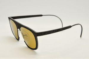 Occhiali da sole Hapter H01m - RB001 - telaio nero e lenti marroni