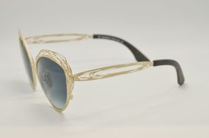Occhiali da sole Liò Occhiali Fil di Ferro - IVM0969 - c02 - telaio bianco e lenti grigie