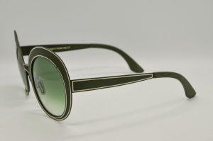 Occhiali da sole Liò Occhiali Matita - IVM0990 - c03 - Telaio verde e lenti verdi