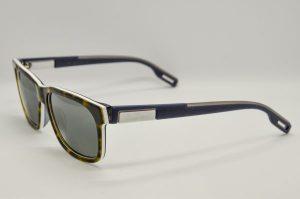 Occhiali da soleMaui Jim Eh Brah Polarized - 284-57 - Telaio Avana e stecche blue -