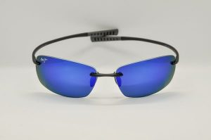 Occhiali da soleMaui Jim Kumu Polarized - 724-02 - Nero e blue