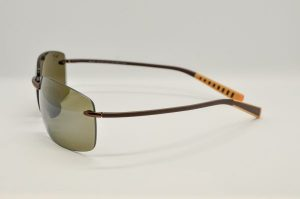 Occhiali da soleMaui Jim Kumu Polarized - 724-23 - telaio e lente marrone