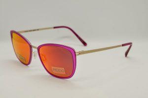Occhiale da sole Modo 658 - Pink - Telaio rosa e argento