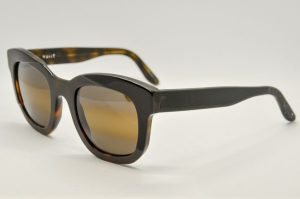 Occhiali da sole Nuiit NULIAQ 920 - telaio marrone e nero con lenti marroni