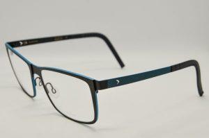 Occhiali da vista Blackfin ANCHORAGE - BF685 423 - telaio nero opaco e azzurro