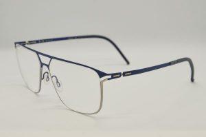 Occhiali da vista Blackfin FUNDERS - BF746 578 - Telaio argento e blue