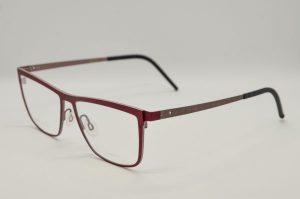 Occhiali da vista Blackfin LOVEN - BF777 - 610 - telaio rosso e rosa fotoinciso