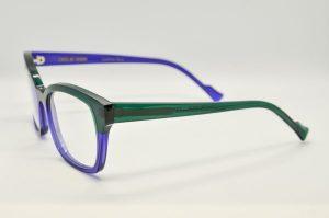 Occhiali da vistaCaroline Abram MADELEINE -133 - Telaio verde e blue
