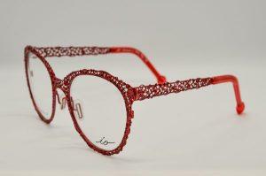 Occhiali da vista Liò Occhiali Antica Venzia - IVM1063 - c04 - telaio rosso