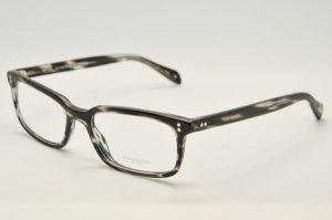 Occhiali da vista Oliver Peoples Denison - 5102 - Telaio acetato grigio opaco