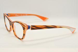 Occhiali da vistaPiero Massaro PM413 - 126 - Telaio arancione e marrone
