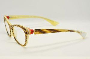 Occhiali da vistaPiero Massaro PM413 - 127 - Telaio giallo e marrone