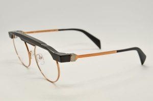 Occhiali da vista Siens Eye Code 018 - 2c4 - Telaio nero e bronzo