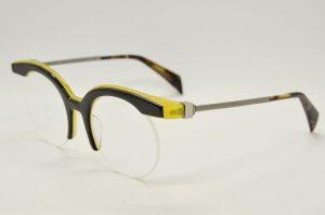 Occhiali da vista Siens Eye Code 025 - 4 - Telaio nero e giallo