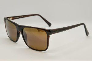 Occhiali da soleMaui Jim FLAT ISLAND - 705 - 26s - telaio acetato marrone e lenti marroni polarizzate