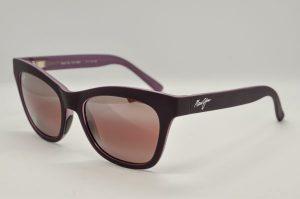 Occhiali da sole Maui Jim SWEET LEILANI - 722 -13MR - telaio in acetato viola e lenti marrone polarizzate