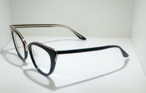 Occhiali da vistaBarton Perreira DORIAN - BLA/GOL - telaio in acetato nero e titanio dorato