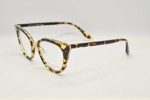 Occhiali da vistaBarton Perreira DORIAN - HEC/GOL - telaio in acetato avana e titanio dorato