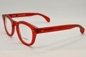Occhiali da vista Locchiale Design K3208 - M1453 - Telaio in acetato rosso opaco