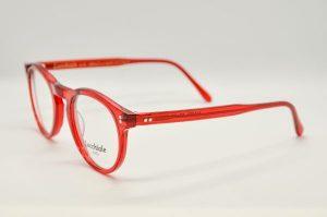 Occhiali da vista Locchiale Design JAMES - RED - telaio acetato rosso